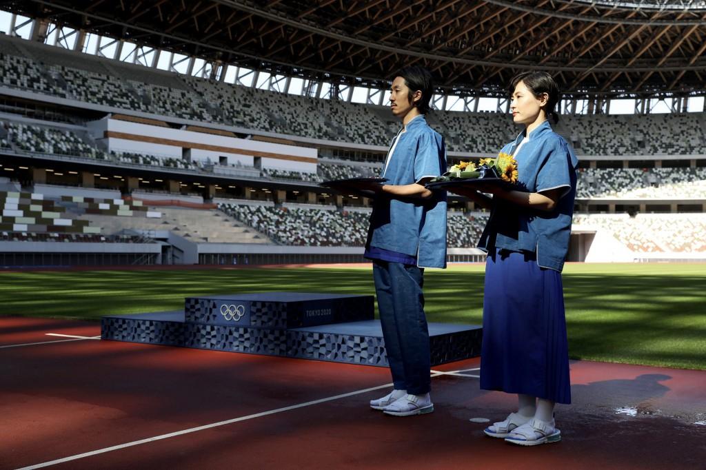 オリンピック 表彰式